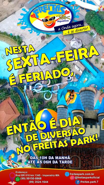 Venha para o Freitas Park!