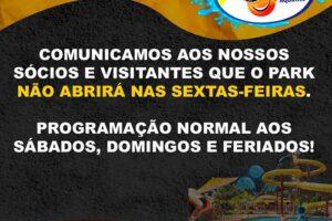 Comunicado Freitas Park
